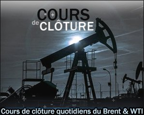 prix du petrole cloture